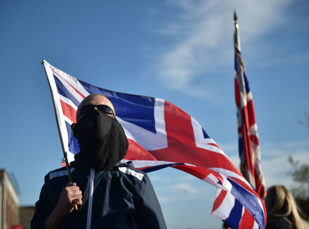 GBR: Loyalists Protest Against The Northern Ireland Protocol