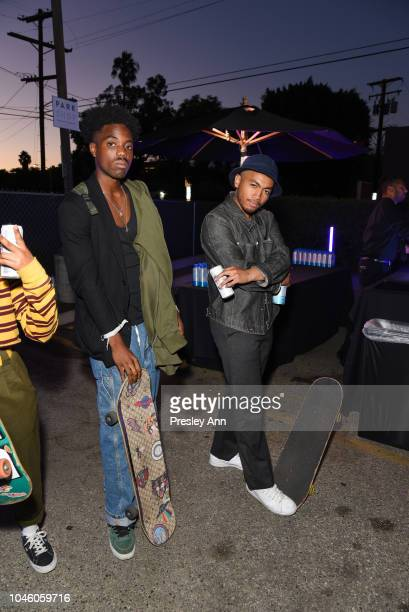 Loyd and Aldo Perez attend Diesel x Shayne Oliver Collection Launch at Opening Ceremony on October 4 2018 in West Hollywood California