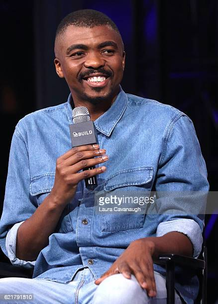 "Loyiso Gola attends The Build Series Presents to discuss his new comedy special ""Loyiso Gola: Live In New York"" at AOL HQ on November 8, 2016 in New..."