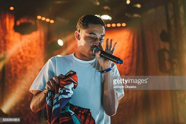 Loyle Carner performs on Day 3 of The Great Escape Festival on May 21 2016 in Brighton England