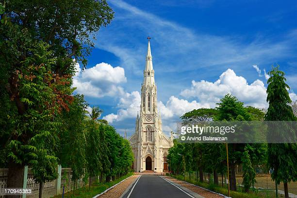 loyola chapel - chennai stock pictures, royalty-free photos & images