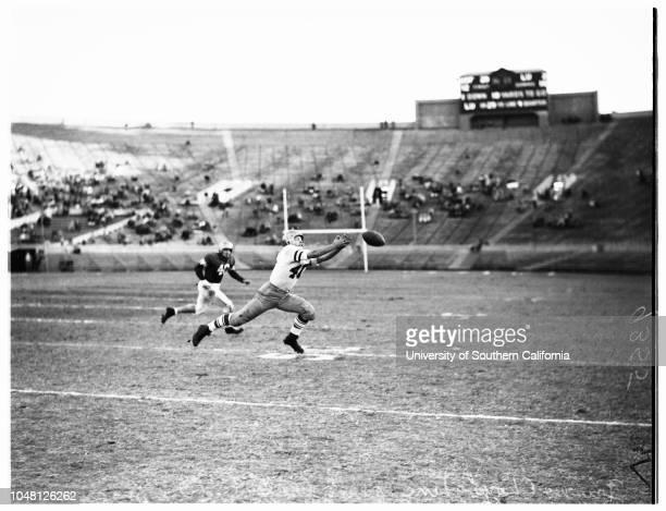 Loyola Marymount University versus University of San Francisco football 25 November 1951Los Angeles California