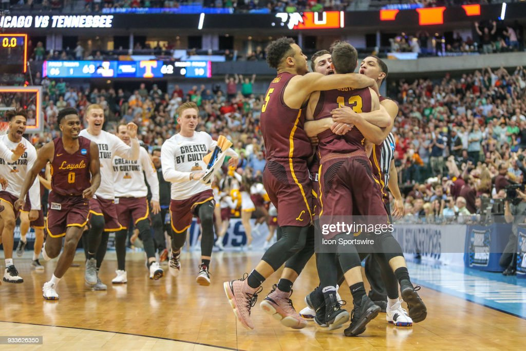 NCAA BASKETBALL: MAR 17 Div I Men's Championship - Second Round - Loyola v Tennessee : News Photo