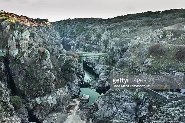 Lozoya Gorge and Villar reservoir, north of Madrid, Spain.