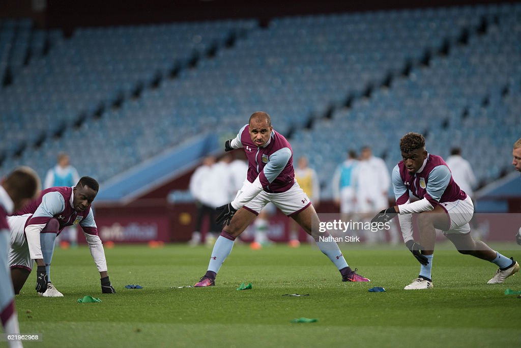 Aston Villa U23's V Celtic U23's - Premier League International Cup : News Photo