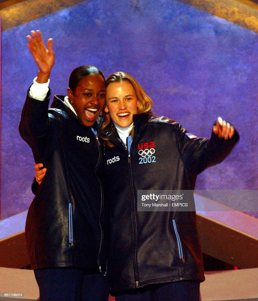 Watch Vonetta Flowers Olympic medal in bobsleigh video