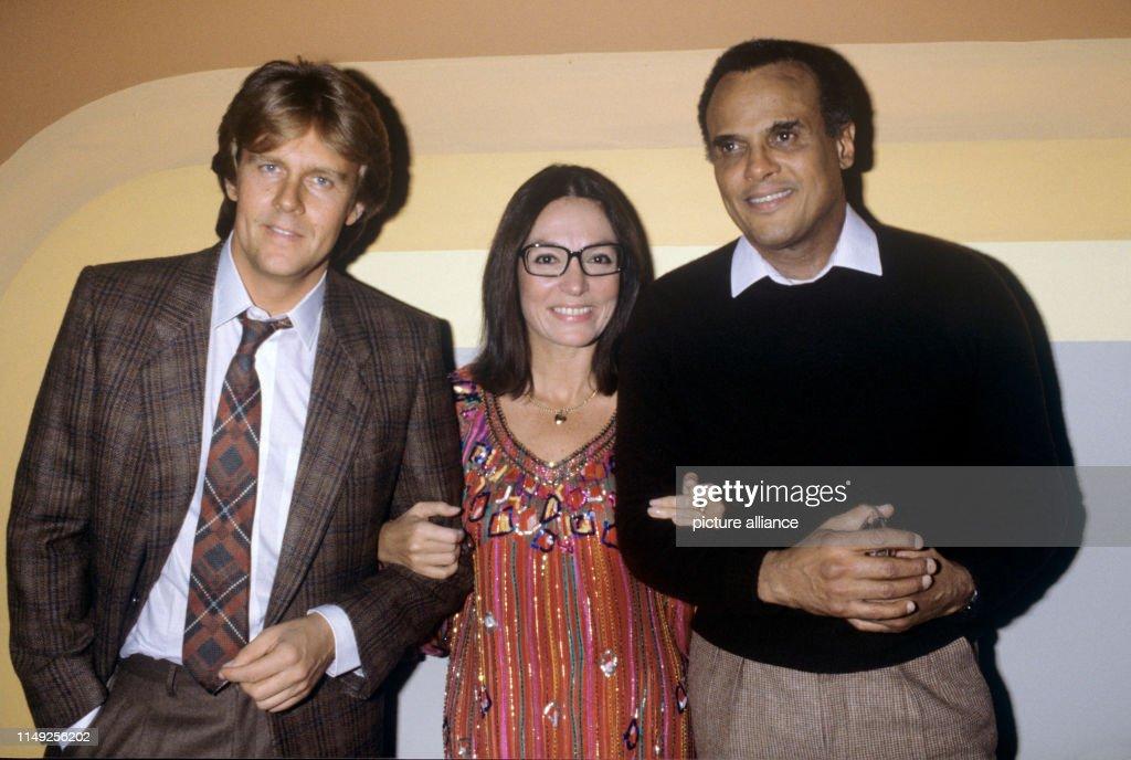 l-r. Howard Carpendale, Nana Mouskouri, Harry Belafonte : Photo d'actualité