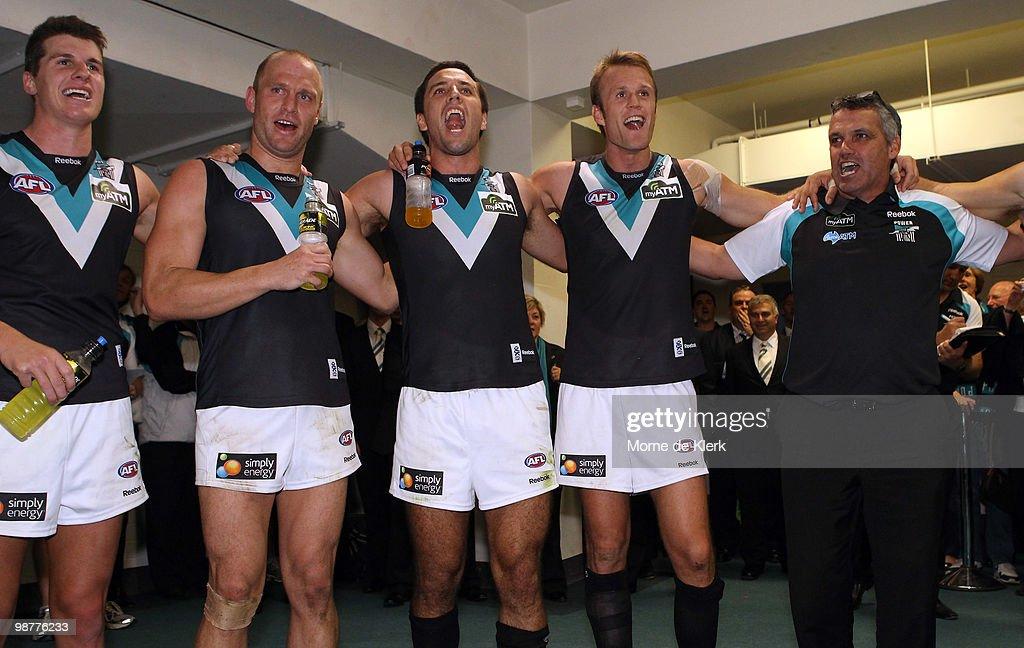 AFL Rd 6 - Crows v Power