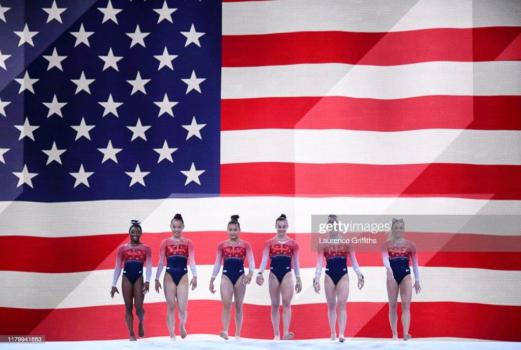 49th FIG Artistic Gymnastics World Championships - Day Five : ニュース写真