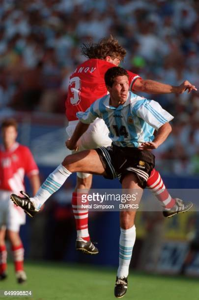 Trifon Ivanov Bulgaria Diego Simeone Argentina