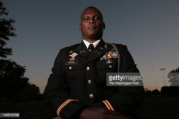 FILE Lt Colonel Greg Gadson a former battalion commander who lost both his legs to an IED in Fort Belvoir VA on September 18 2007