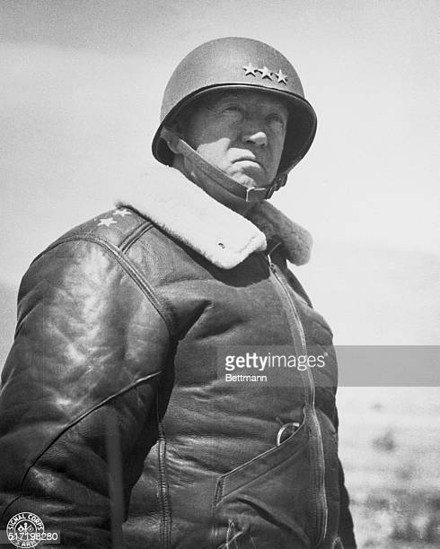 Lt Gen George S Patton the man who led the Second US Corps to victory in Tunisia is grimly determined to repeat himself in Sicily He is now in charge...