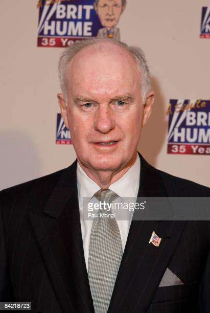 Lt. Gen. Thomas McInerney attends salute to Brit Hume at Cafe Milano on January 8, 2009 in Washington, DC.