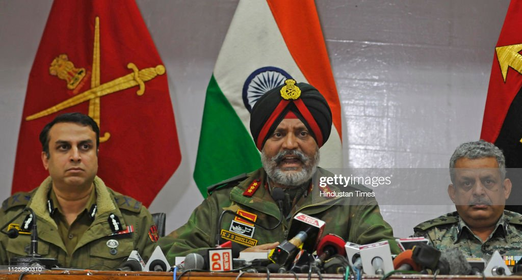 IND: Joint Press Conference Of Army, Police And CRPF On Pulwama Encounter