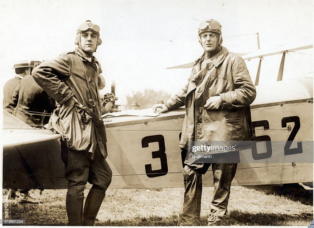 George L Boyle After First Mail Flight : News Photo