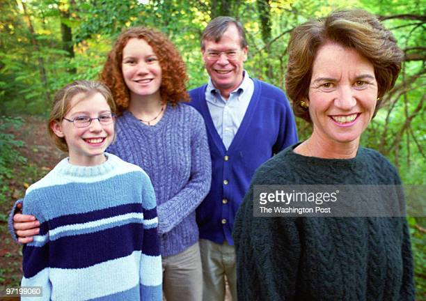 TOWNSEND Lt Governor Kathleen Kennedy Townsend is in a very tight race for Governor of Maryland Pictured the Townsend's taking a walk in their Towson...