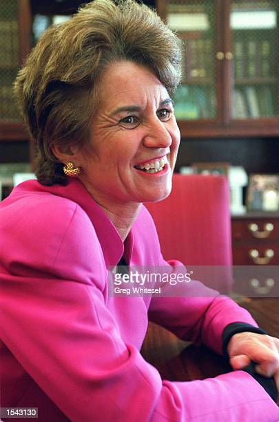Lt. Governor of Maryland Kathleen Kennedy Townsend sits in her office at the State House May 1, 2002 in Annapolis, MD. Townsend is the first Kennedy...
