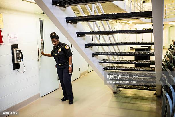 Lt Yevonicia Spears secures an inmate in her cell in Housing Unit A East The unit has 112 beds and is at capacity Stephen Moyer Secretary of the...