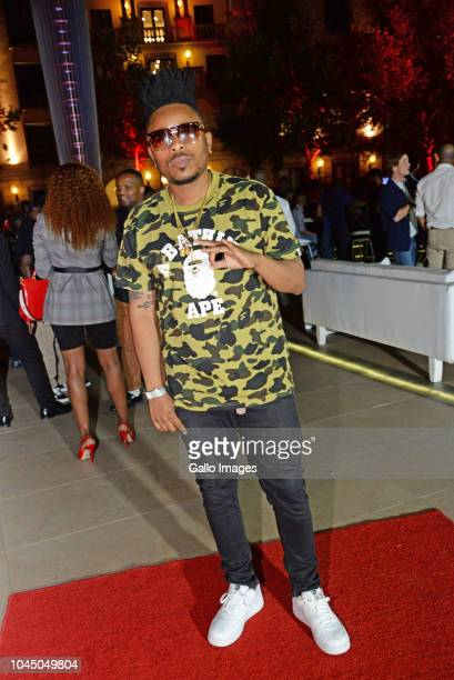 LTido during the exclusive launch of AKA Beam World App powered by Vodacom at the Pivot Montecasino on Johannesburg South Africa AKA officially...