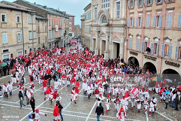 Lu Bov Fint Carnival Offida Marche Italy