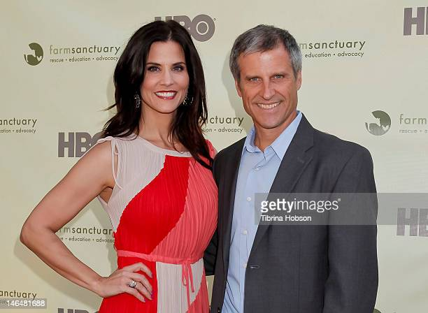 Lu Parker and Gene Baur attend 'Bringing Farm Sanctuary To All' A Celebration of Expanding Compassion on June 16 2012 in Los Angeles California