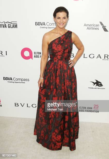 Lu Parker arrives to the 26th Annual Elton John AIDS Foundation's Academy Awards Viewing Party held at West Hollywood Park on March 4 2018 in West...
