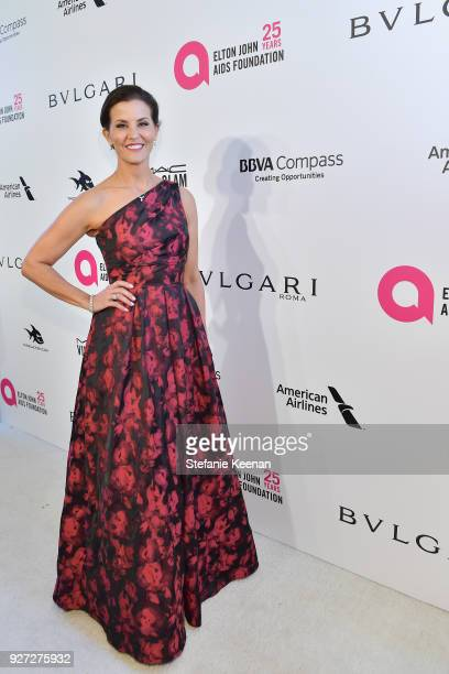 Lu Parker attends the 26th annual Elton John AIDS Foundation Academy Awards Viewing Party sponsored by Bulgari celebrating EJAF and the 90th Academy...