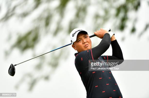 Lu weichih of Chinese Taipei pictured during an official practice round ahead of the Royal Cup at the Phoenix Gold Golf and Country Club on December...