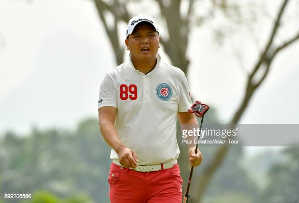 Lu Weichih of Taiwan pictured during round one of the Royal Cup on December 28 2017 in Pattaya Thailand Photo by Paul Lakatos/Asian Tour/Asian Tour...