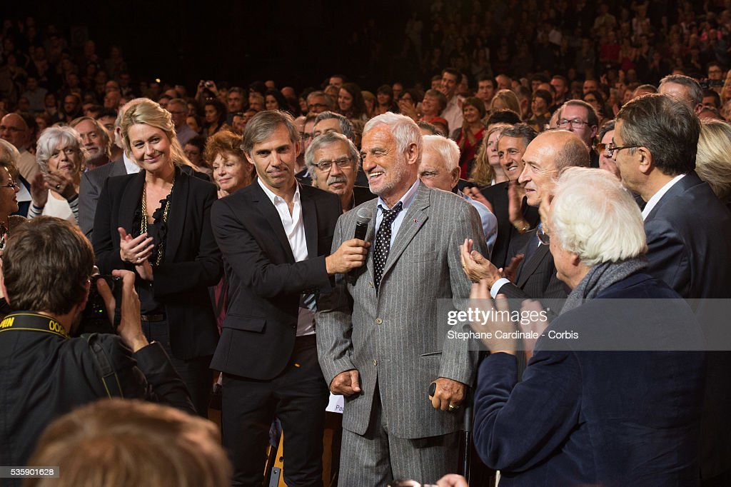 France - Tribute to Jean-Paul Belmondo at Opening Ceremony of 5th Lumiere Film Festival