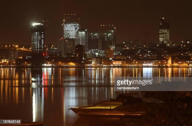 Luanda at night
