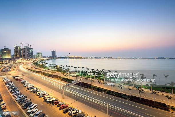 Luanda Bay and the Marginal - 4th of February Av.