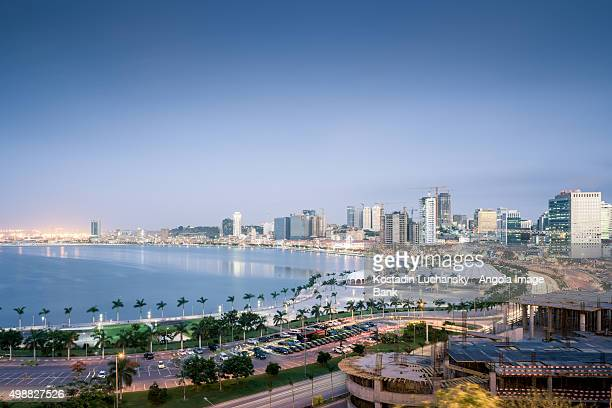 Luanda Bay and the Marginal - 4th of February Av.