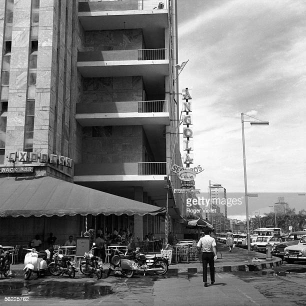 Luanda Terrace of cafe march 1972
