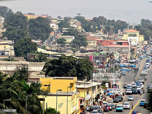 luanda traffic - angola stock pictures, royalty-free photos & images