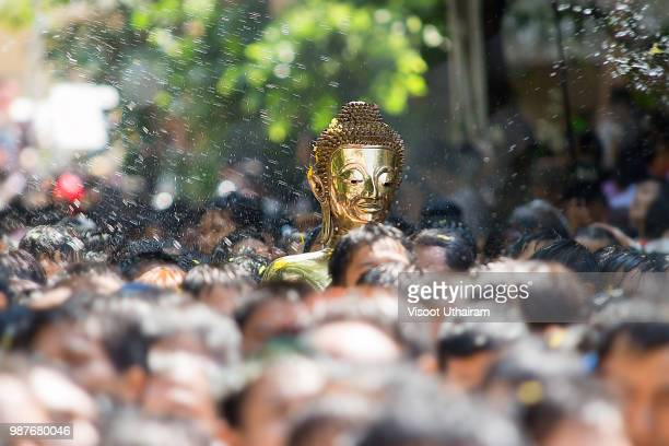 luang pho phra sai - buddhist new year stock pictures, royalty-free photos & images
