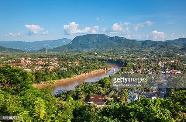 Luang Prabang and Nam Khan River