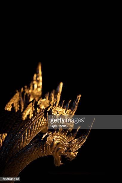 Luang Prabang Golden Nagas