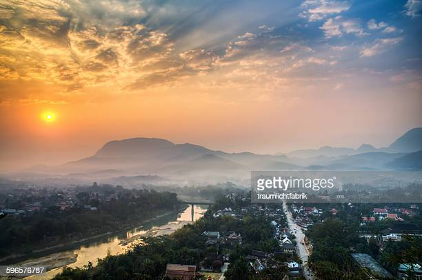 Luang Prabang sunrise