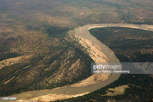 luangwa river, south luangwa national park, zambia, africa - south luangwa national park stock pictures, royalty-free photos & images