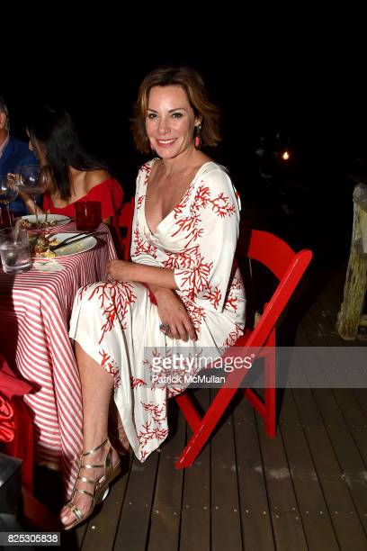 Luann D'Agostino attends Janna Bullock Celebrates an Endless Summer at Private Residence on July 23 2017 in Southampton New York