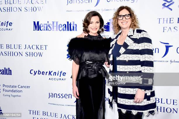Luann de Lesseps and Judy Gold attend the The 3rd Annual Blue Jacket Fashion Show Benefitting The Prostate Cancer Foundation at Pier 59 Studios on...