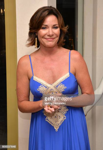 Luann de Lesseps at the American Red Cross South Florida Spectrum Awards kick off reception at Lilly Pulitzer Boutique at Merrick Park on October 4...