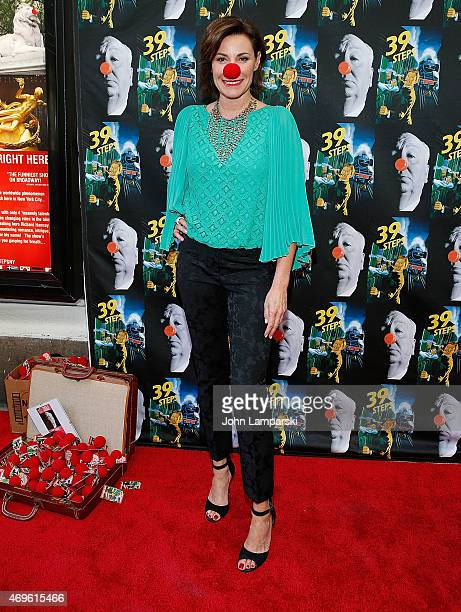 LuAnn de Lesseps attends '39 Steps' Opening Night at Union Square Theatre on April 13 2015 in New York City