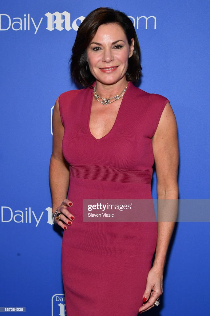 Luann De Lesseps attends DailyMail.com & DailyMailTV Holiday Party with Flo Rida on December 6, 2017 at The Magic Hour in New York City.