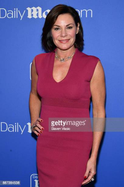 Luann De Lesseps attends DailyMailcom DailyMailTV Holiday Party with Flo Rida on December 6 2017 at The Magic Hour in New York City