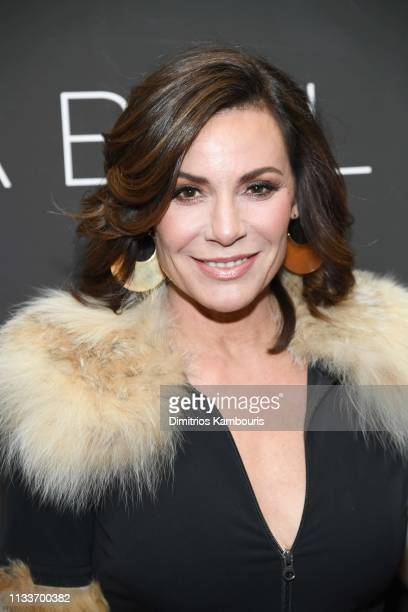Luann de Lesseps attends Gloria Bell New York Screening at Museum of Modern Art on March 04 2019 in New York City