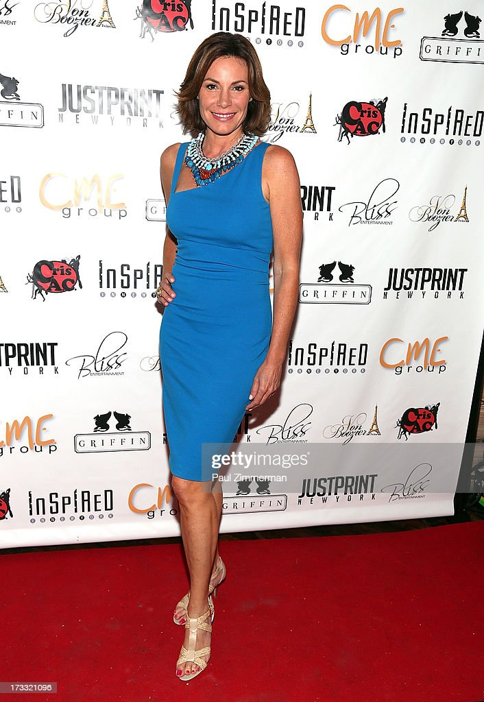 LuAnn de Lesseps attends 'Inspired In New York' event on July 11, 2013 in New York, United States.