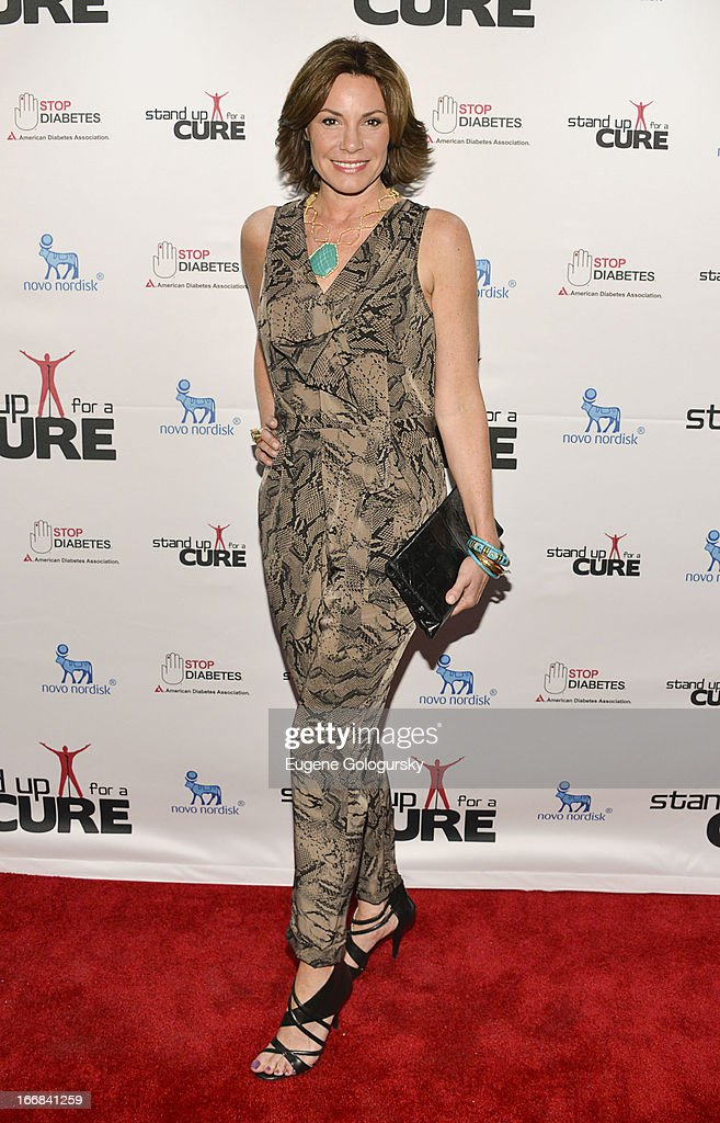 LuAnn de Lesseps attends Stand Up For A Cure 2013 at The Theater at Madison Square Garden on April 17, 2013 in New York City.