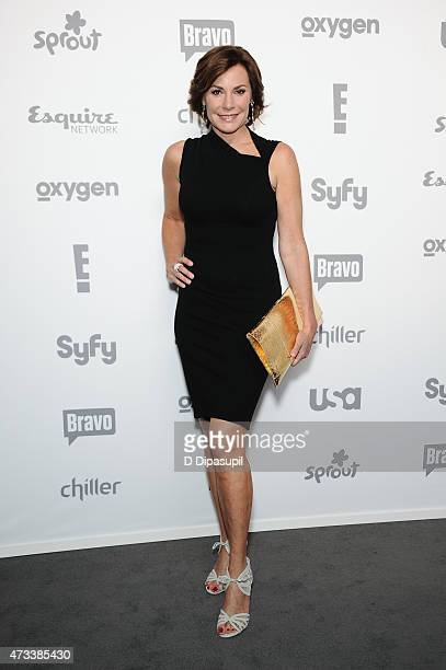 LuAnn de Lesseps attends the 2015 NBCUniversal Cable Entertainment Upfront at The Jacob K Javits Convention Center on May 14 2015 in New York City